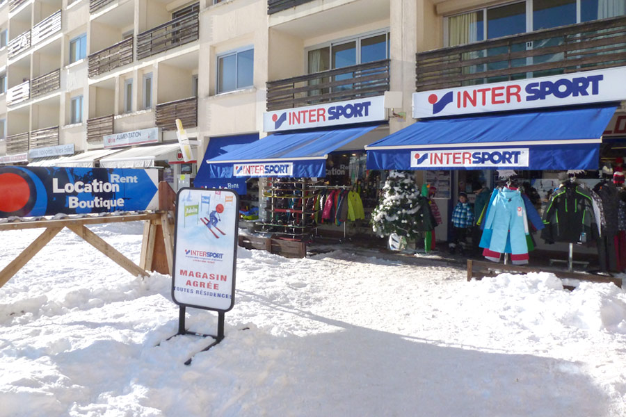 Ski rental Saint François Longchamp Intersport